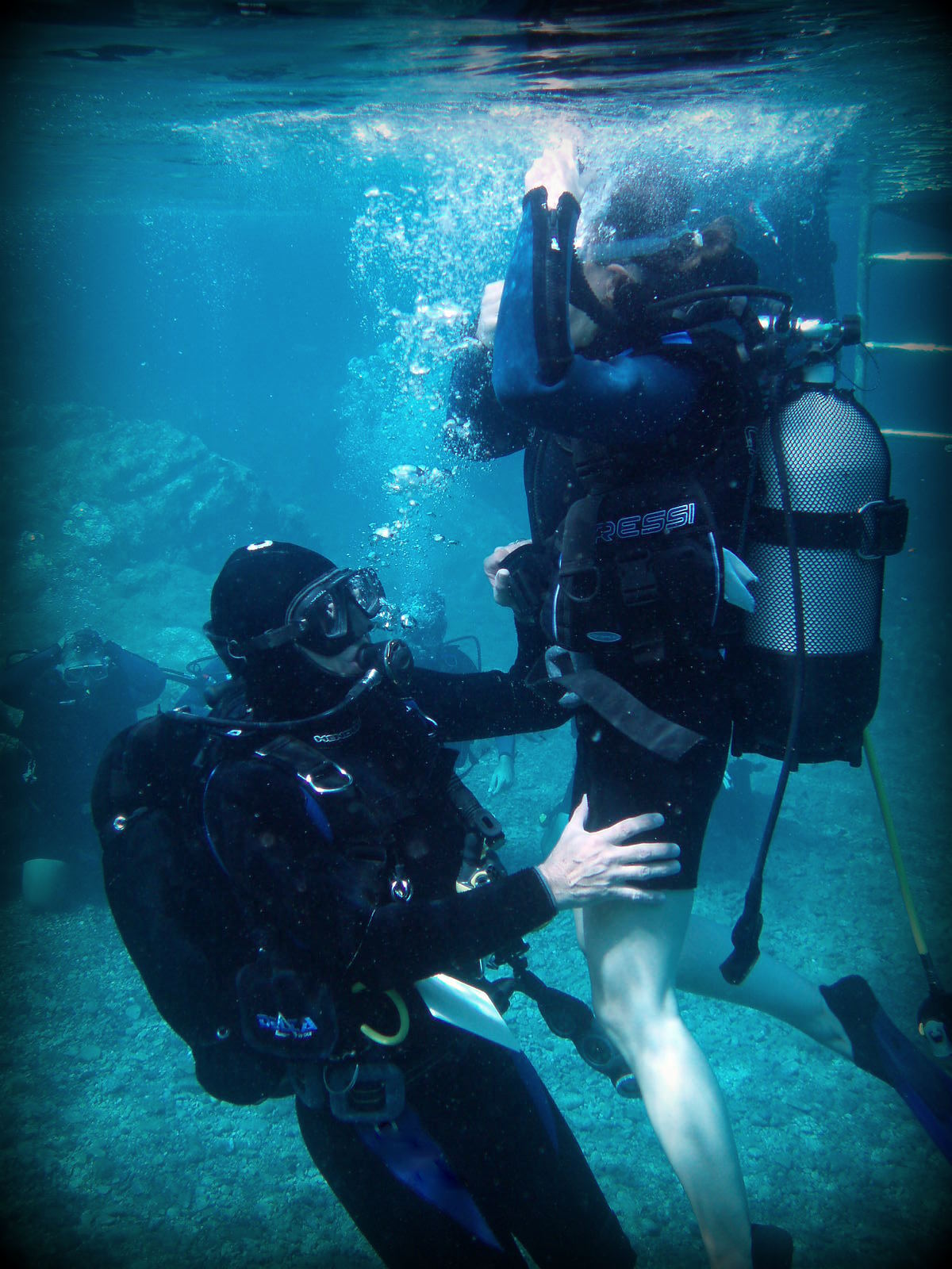 Frogman Training 02